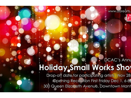 Dare County Arts Council Presents the Annual Holiday Small Works Show