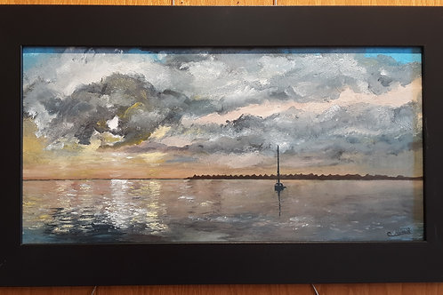 """Morning Storm -Manteo Harbor"""