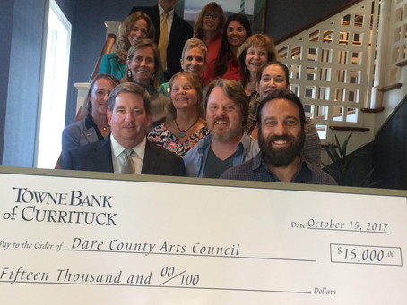 TowneBank Supports Dare County Arts Council's Growth