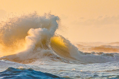 """Wave Colliding at Cape Hatteras"""