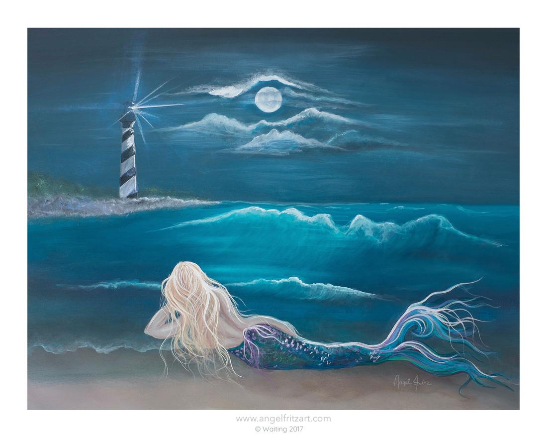 Waiting - Mermaid by Angel Fritz