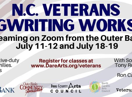 Registration Now Open For July Veterans Songwriting Workshop