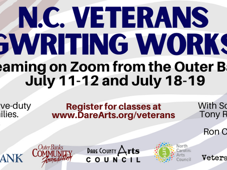 Registration Now Open For July Veterans Songwriting Workshop