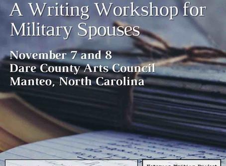Dare County Arts Council Announces Outer Banks Veterans Week Workshop