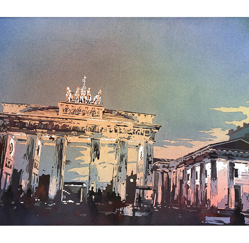 Brandenburg Gate IV by Ryan Fox