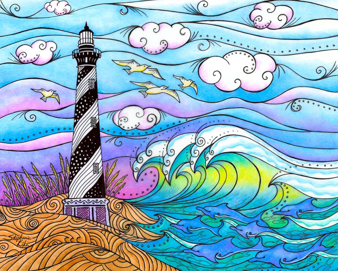 Hatteras Waves by Stephanie Kiker