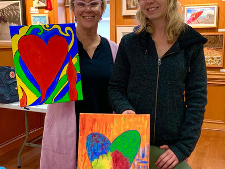 Dare County Arts Council Expressions of the Heart Exhibit Opens