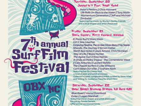 Support Wilmington at the Surfalorus Film Festival September 20-22
