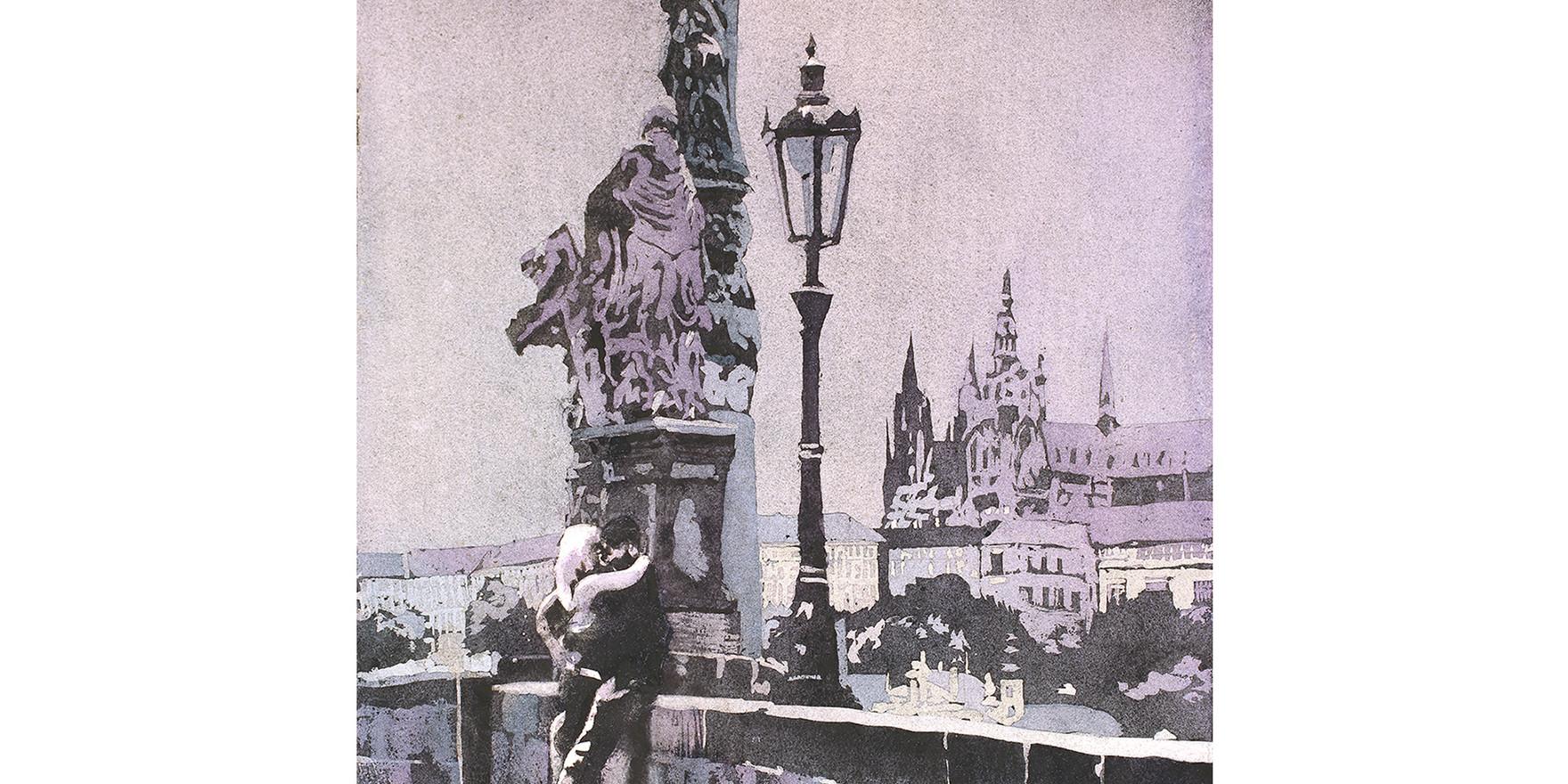 Charles Bridge Prague by Ryan Fox