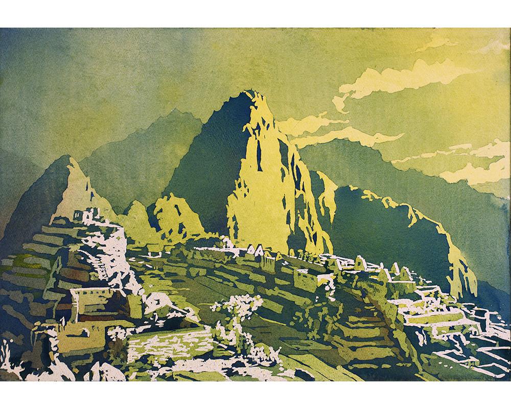 Machu Picchu by Ryan Fox