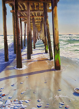 _Old Nags Head Pier_ by Mary Edwards .jp