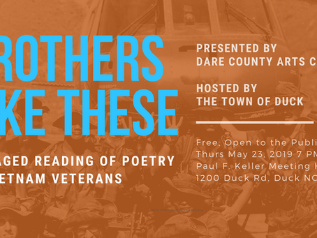 Brothers Like These, May 23 at Duck Town Hall