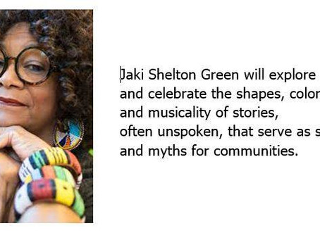 Jaki Shelton Green, Poet Laureate of NC on the Outer Banks