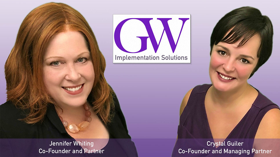 GW Solutions founders Crystal Guiler and Jennifer Whiting