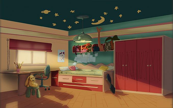 ivet y michuco, 3d animation