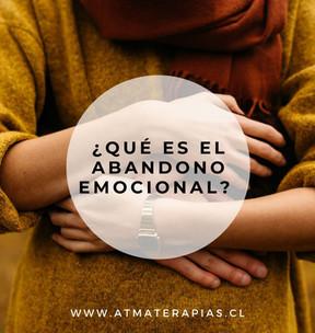 ¿Qué es el abandono emocional?
