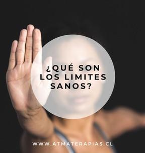 ¿Qué son los límites sanos?