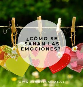 ¿Cómo se sanan las emociones?