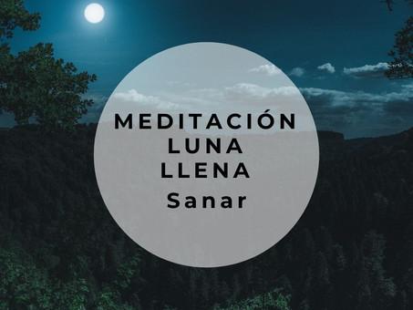 Meditación de luna llena - sanación