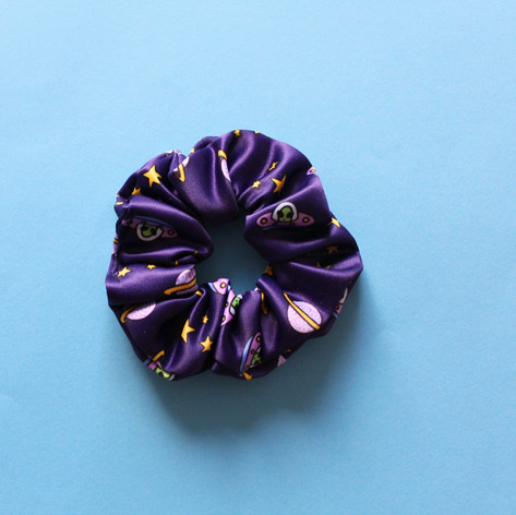 Spaced Out Scrunchie