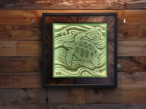 Sandblasted Sea Turtle