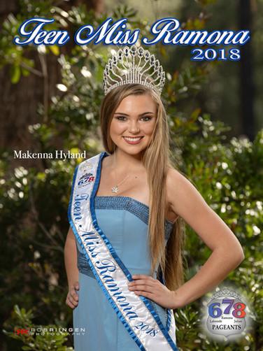 Teen Miss Ramona 2018