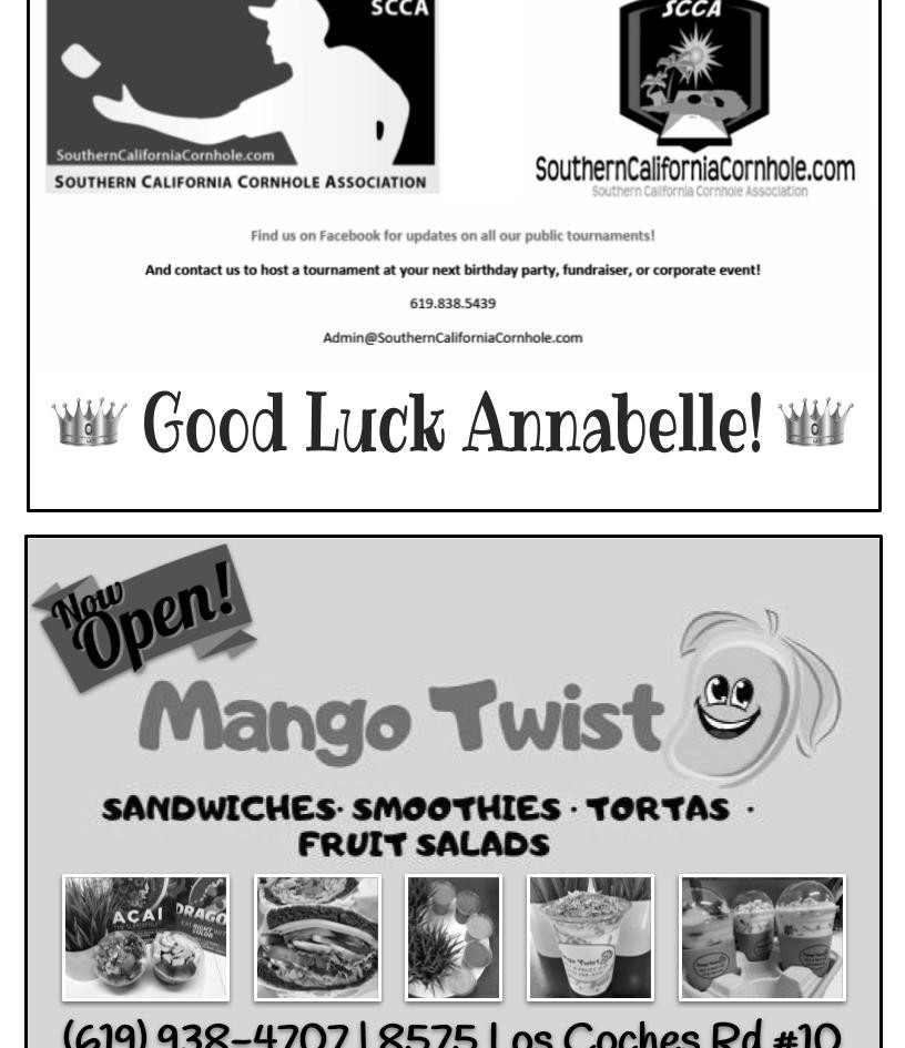 Southern California Cornhole Association and Mango Twist