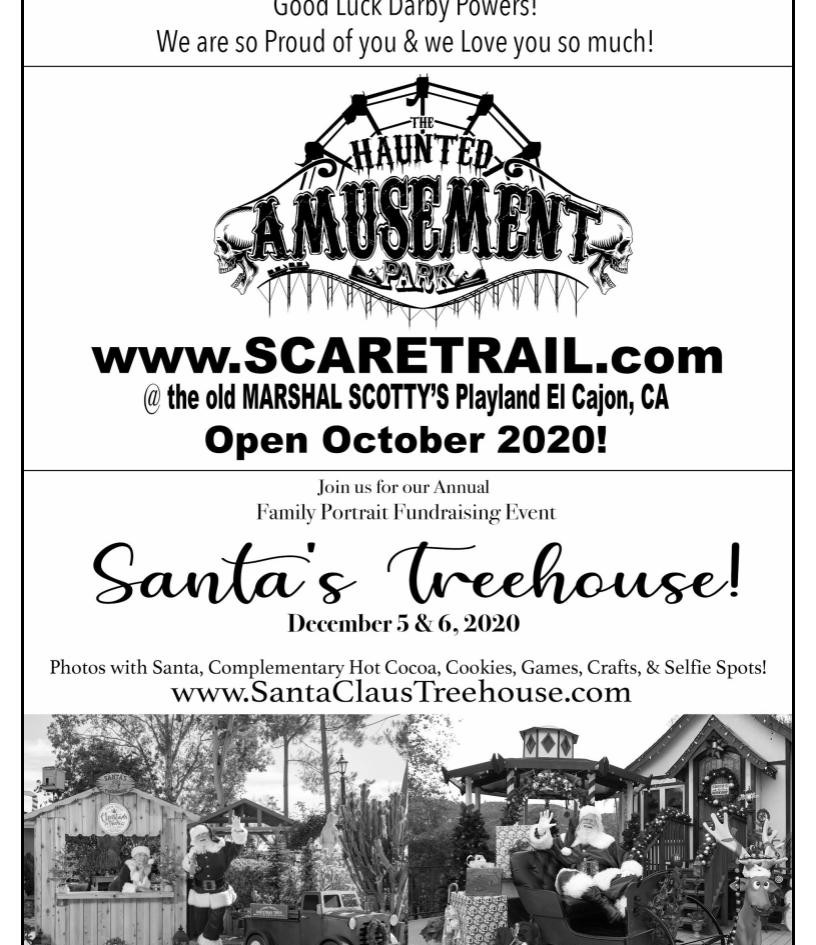 Haunted Amuesement Park and Santas Treehouse