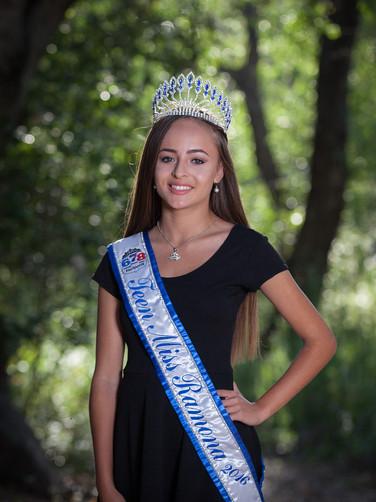 Teen Miss Ramona 2016