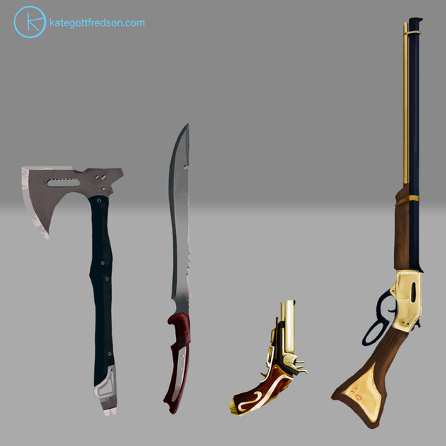 Space Pirate World Weapons
