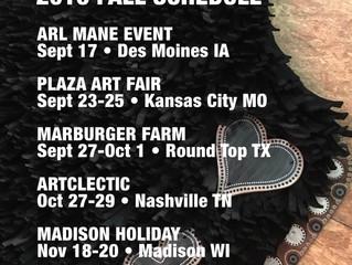 Fall Show Schedule
