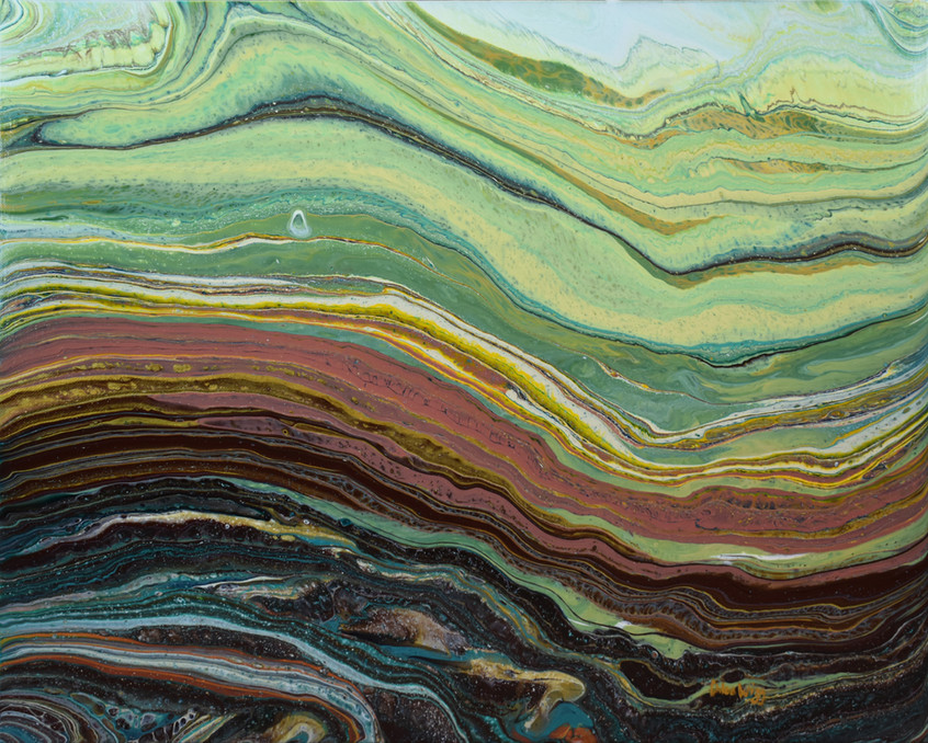 Sedement layer by Chloe Wigg