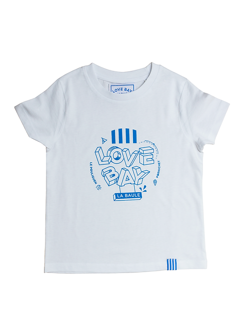 T-shirt enfant unisexe LOVE BAY