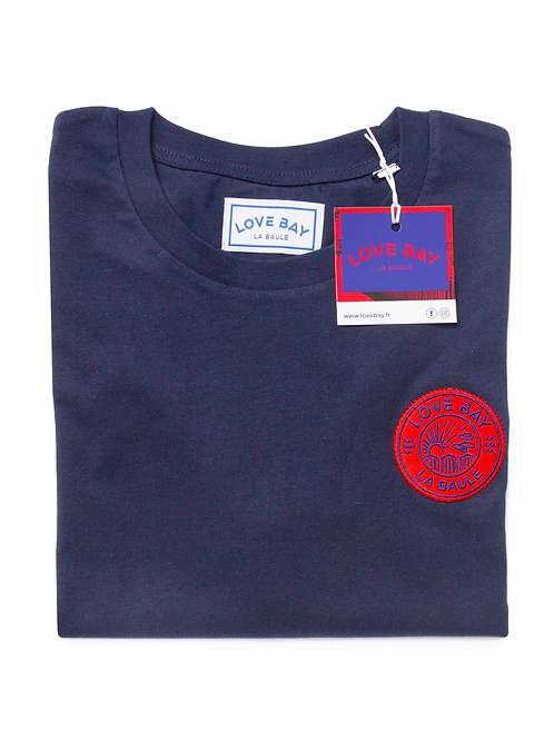 T-shirt unisexe LOVE BAY Bleu