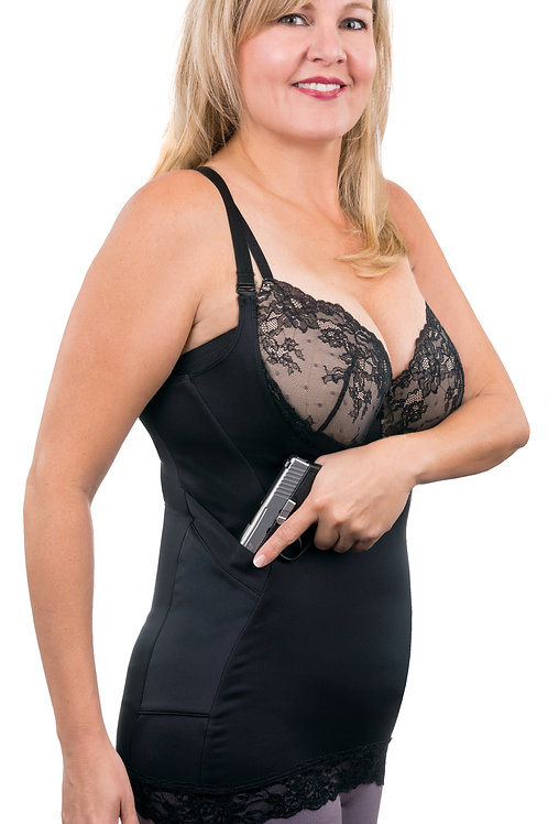LUXE LACE Compression Camisole - Concealed Carry