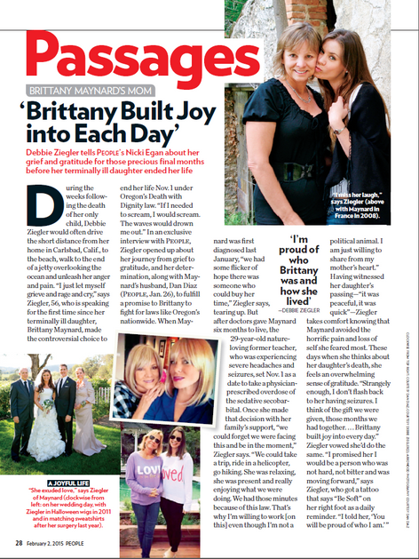 Brittany Built Joy into Each Day