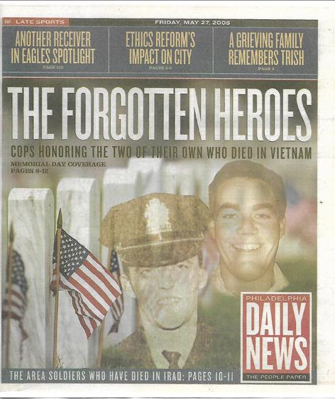 Philadelphia Daily News - Forgotten Heroes