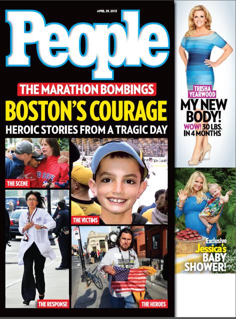Boston Marathon Bombing cover