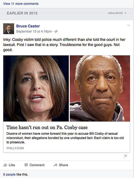 Alleged Victim of Bill Cosby Will Cooperate with Prosecutors if Charges Are Brought Against Him