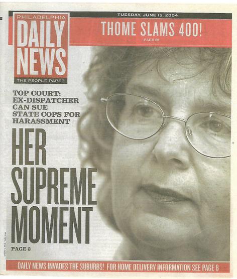 Philadelphia Daily News -     Nancy Drew Suders