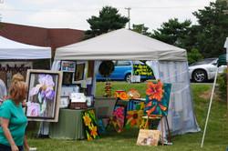 Vendors and Art Display