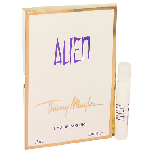 Alien by Thierry Mugler (sample on card)