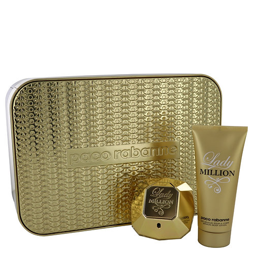 Lady Million By Paco Rabanne (Includes Body Lotion)