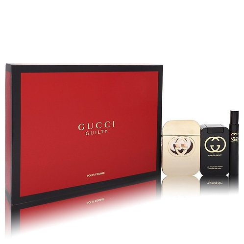 Gucci Guilty Pour Femme By Gucci(Includes Mini Spray & Body Lotion)