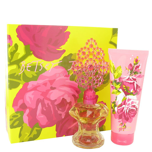 Betsey Johnson by Betsey Johnson ( includes 3.4 oz Parfum Spray + 6.7 oz Lotion)