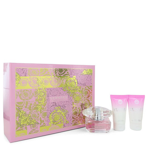 Bright Crystal by Versace (includes body lotion and shower gel)