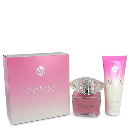 Bright Crystal by Versace (includes body lotion)