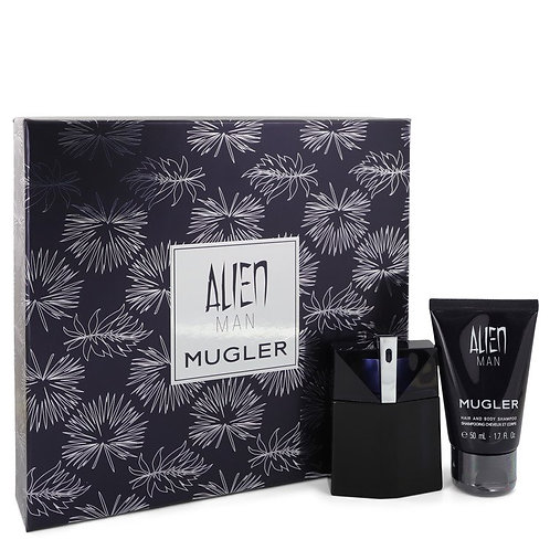 Alien Man by Thierry Mugler (includes hair and bodyshampoo)