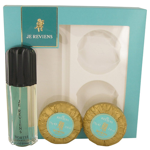 je reviens by Worth (includes 2 soaps)