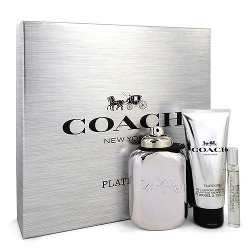 Coach Platinum By Coach(Includes Mini Spray & Shower Gel)
